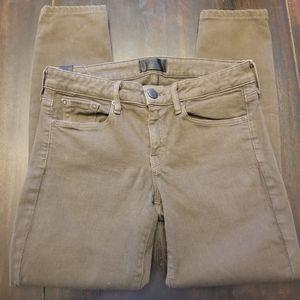 Vince Olive Green Jeans